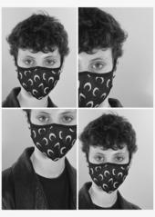 Marine Serre moon-print face mask