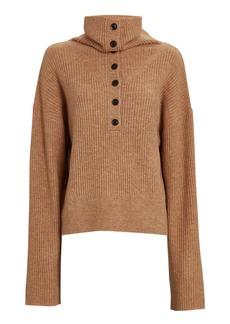 Marissa Webb Aspen Half-Button Sweater