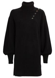 Marissa Webb Blake Rib Knit Turtleneck Dress