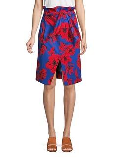 Marissa Webb Ella Floral-Print Skirt