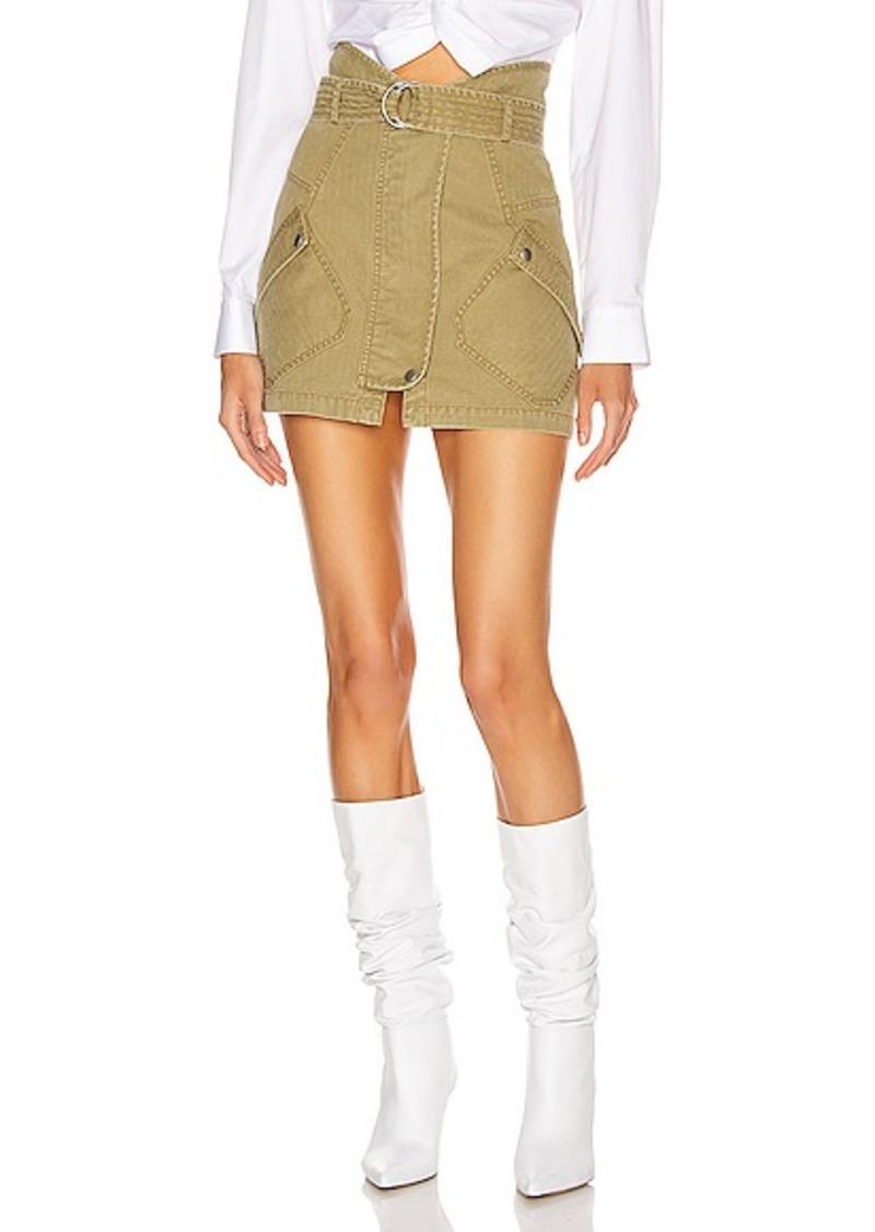 Marissa Webb Brooke Heavy Canvas Skirt