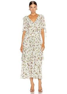 Marissa Webb Deandra Tea Length Dress