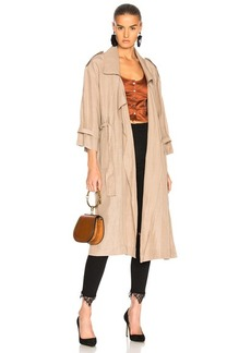 Marissa Webb Jordana Trench Coat