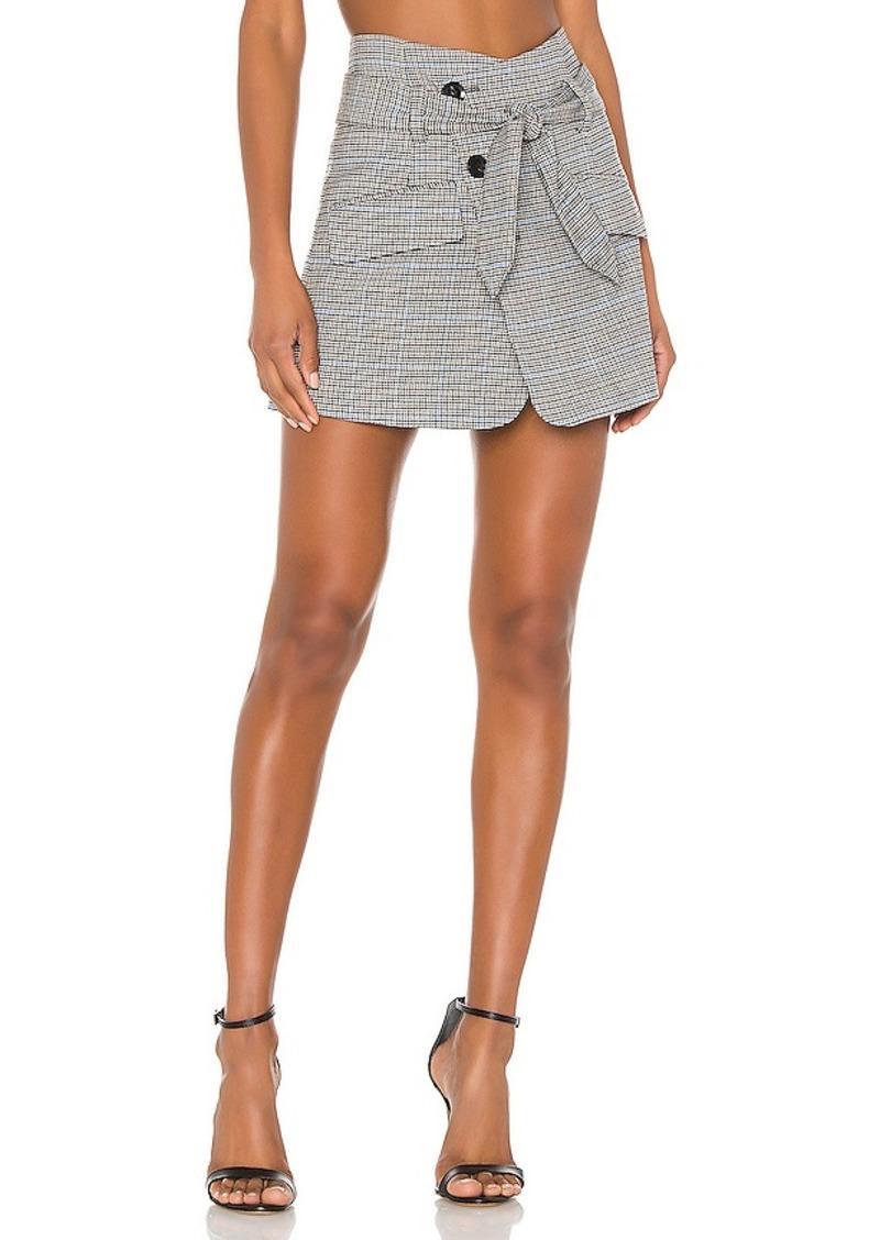 Marissa Webb Katrina Plaid Skirt