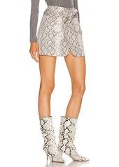 Marissa Webb Katrina Print Canvas Skirt