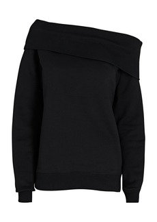 Marissa Webb Off-the-Shoulder Sweatshirt