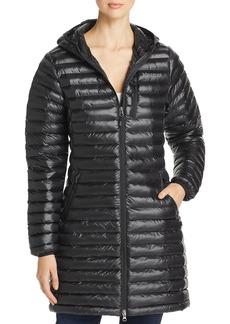 Marmot Avant Featherless Hooded Long Puffer Coat
