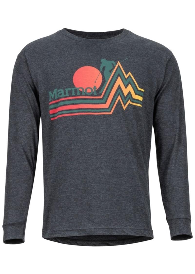Marmot Men's Eco-Friendly Piste Long Sleeve T-Shirt