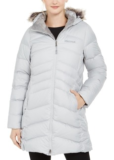 Marmot Women's Montreal Hooded Faux-Fur-Trim Coat