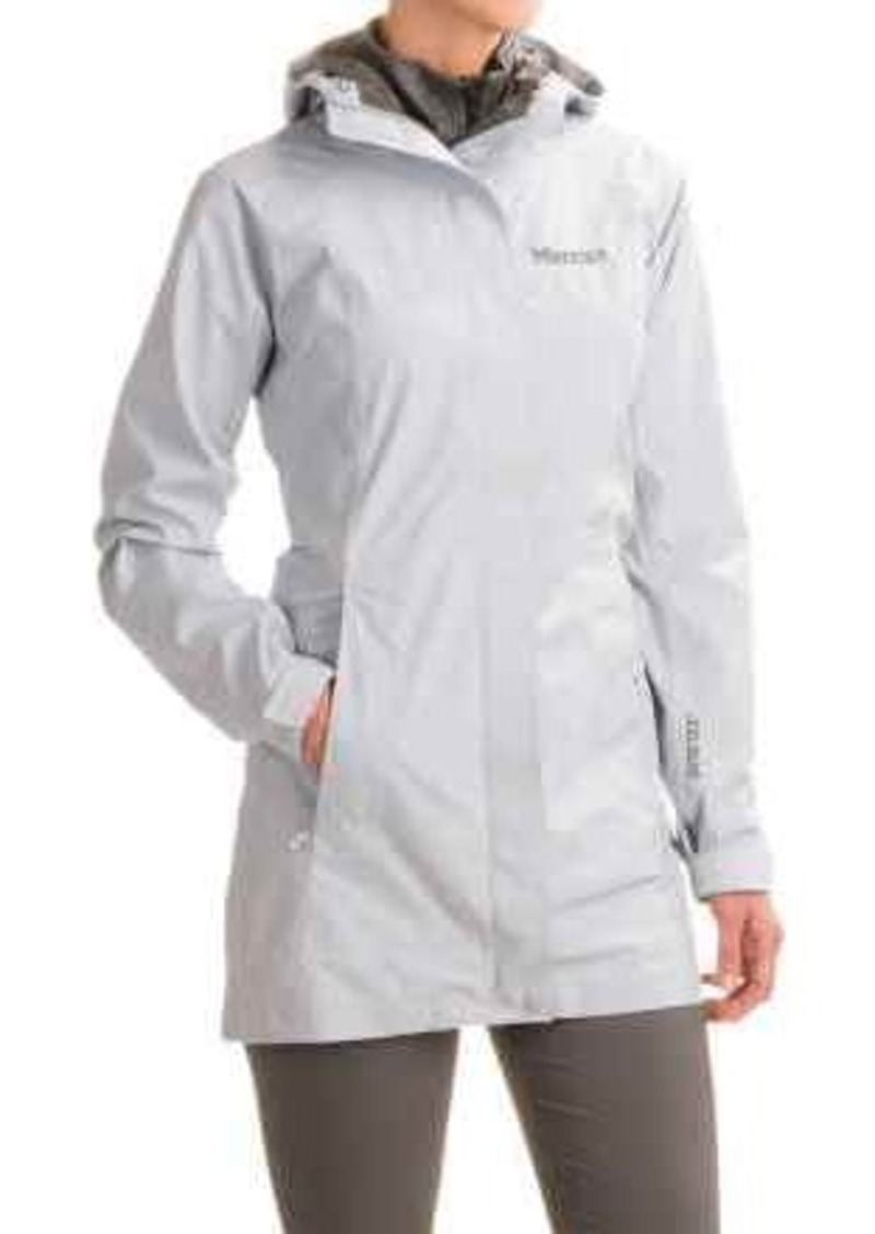 best place online here incredible prices Marmot Marmot Optima LX Long Gore-Tex® PacLite® Rain Coat - Waterproof (For  Women) | Outerwear