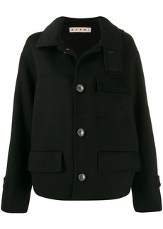 Marni double-face short coat