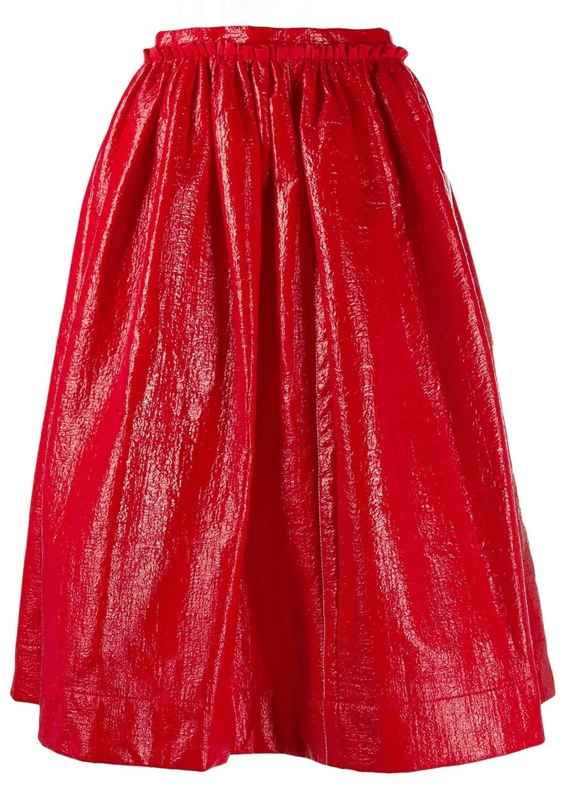 Marni full pleated skirt