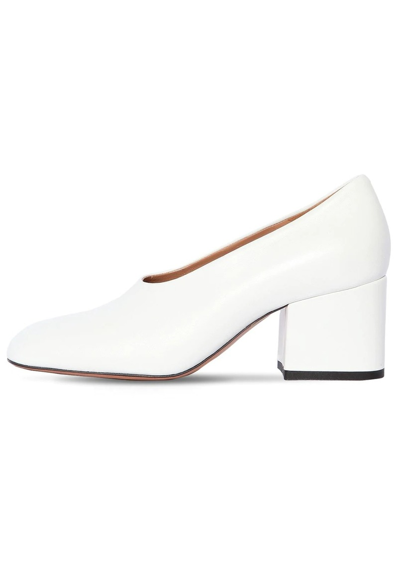 Marni 60mm Leather Pumps