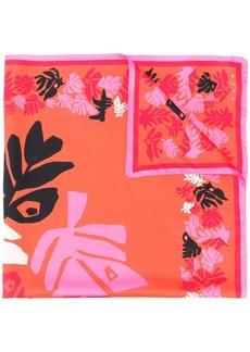 Marni abstract print scarf