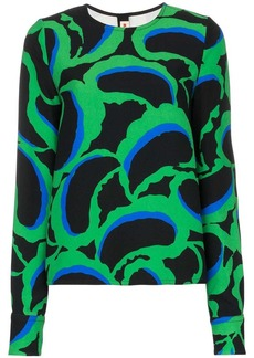 Marni abstract print top