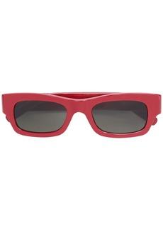 Marni acetate rectangular glasses
