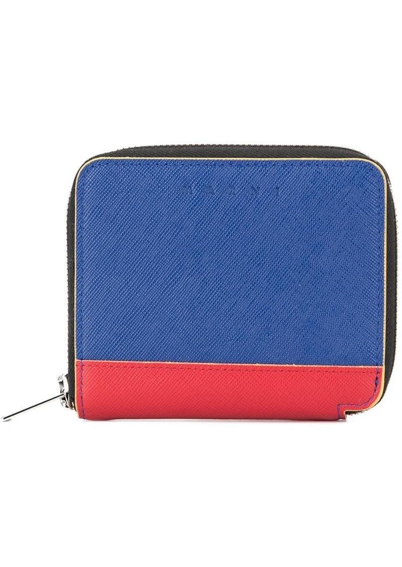Marni all-around zip wallet