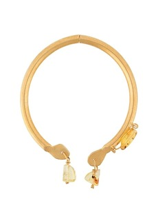 Marni amber pendant choker