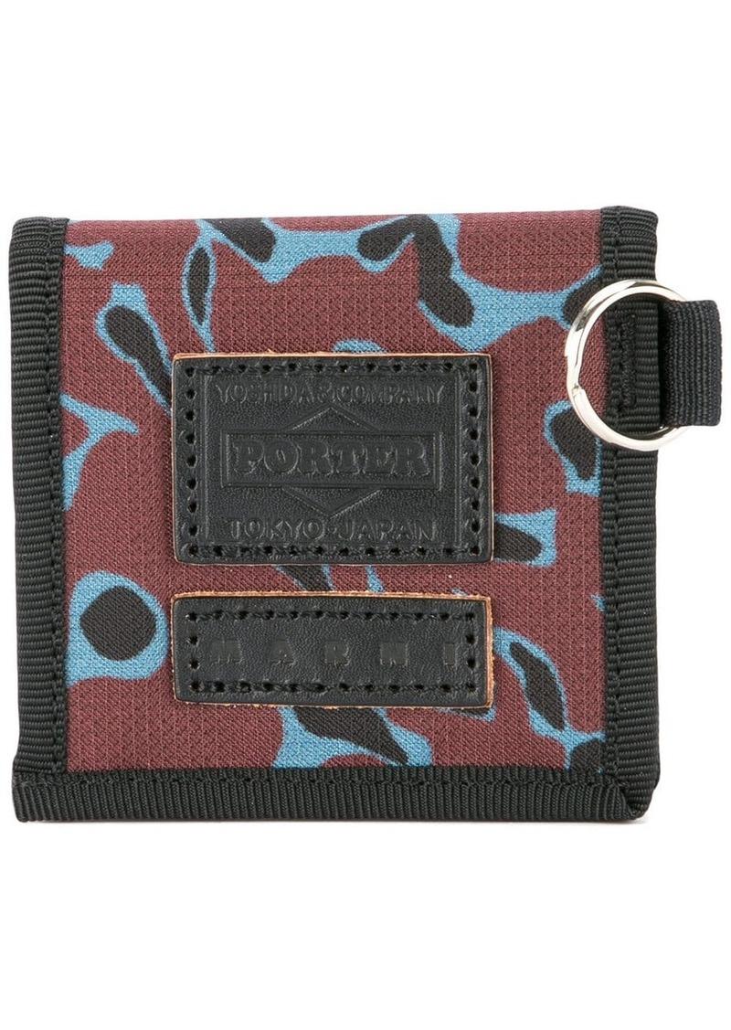 Marni animal print wallet