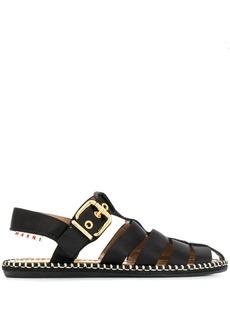 Marni satin espadrille sandals