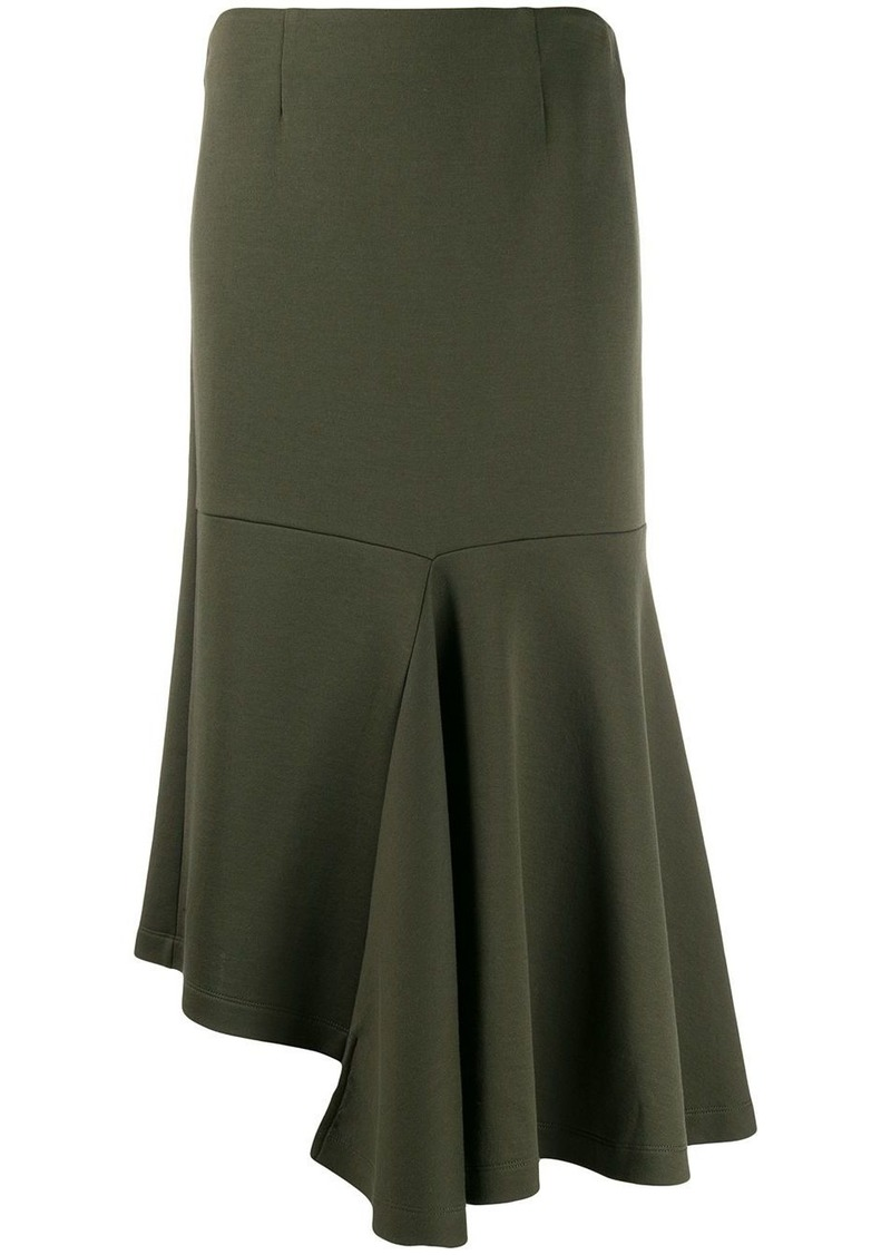 Marni godet bottom jersey skirt