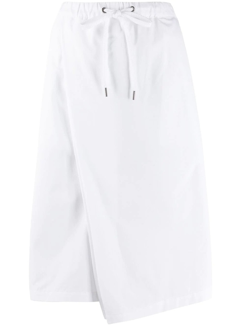 Marni asymmetric mid-length skirt