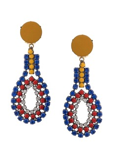 Marni beaded drop earrings
