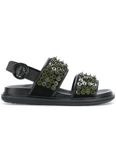 Marni beaded Fussbett sandals