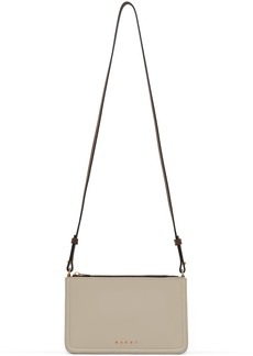Marni Beige Colorblock Shoulder Bag