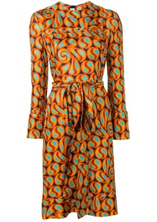 Marni belted shift dress