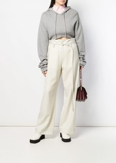 Marni Belted wide leg trousers
