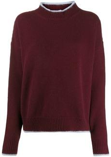 Marni bi-colour crewneck sweater