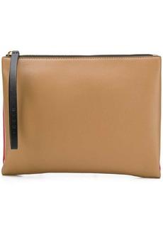 Marni bi-colour pouch clutch
