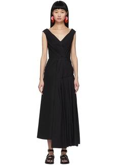 Marni Black Drape Dress