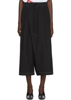Marni Black Slanted Lounge Pants
