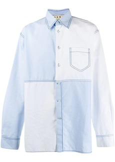 Marni block color shirt