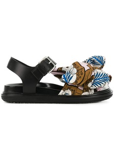 Marni bow embellished sandals