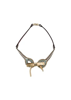 Marni bow necklace