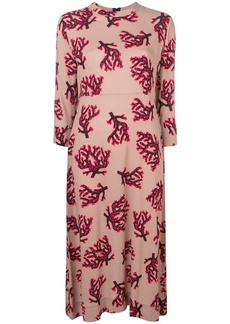 Marni branch print dress