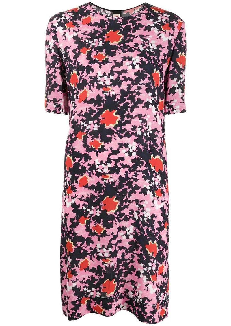 Marni Buds print tunic dress