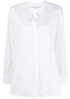 Marni button-up tunic blouse
