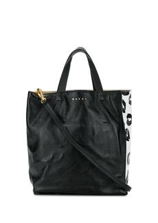 Marni calf leather tote bag
