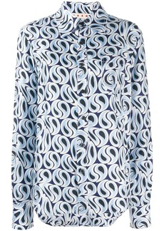 Marni Camicia print shirt