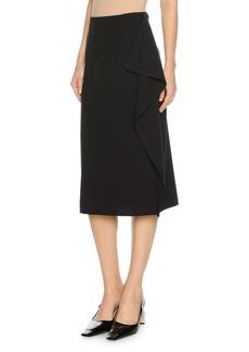 Marni Cascade-Ruffle Midi Skirt