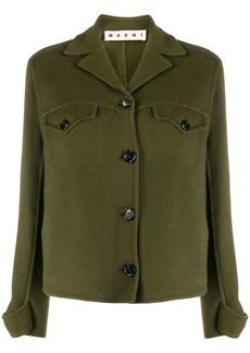 Marni cashmere shirt jacket