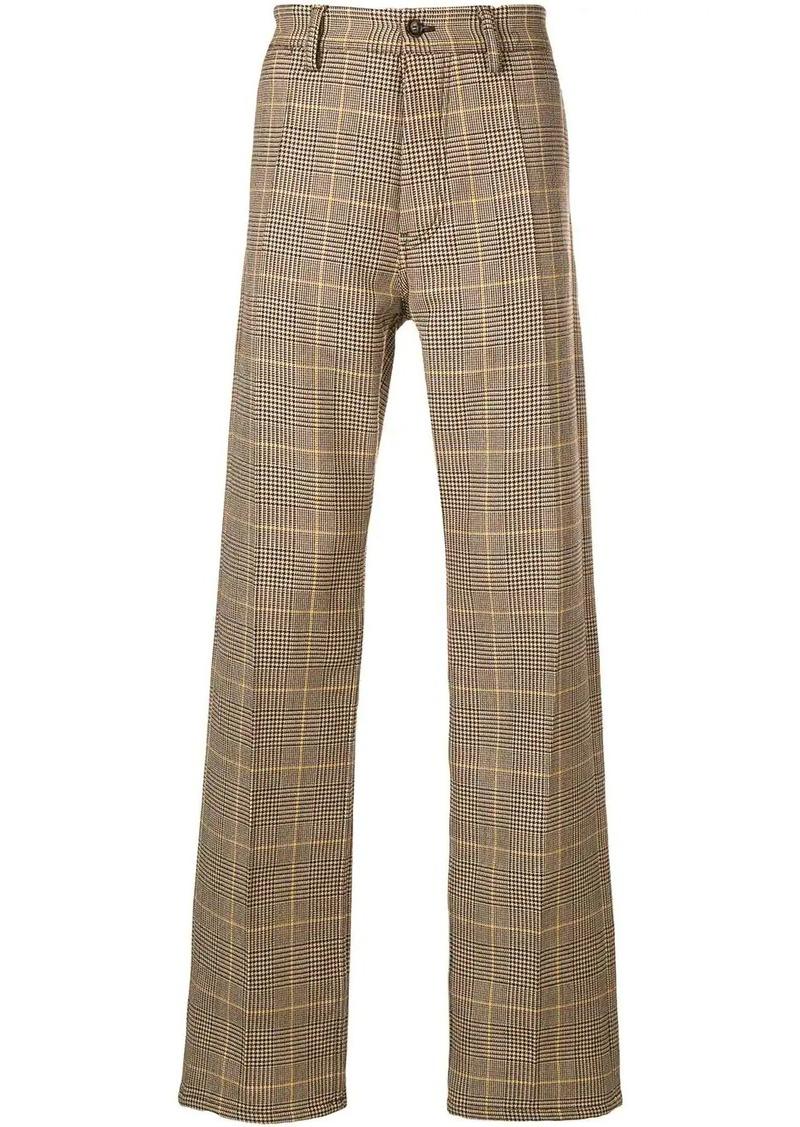 Marni check trousers
