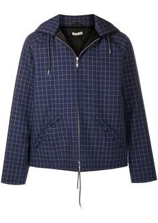 Marni checked hooded jacket