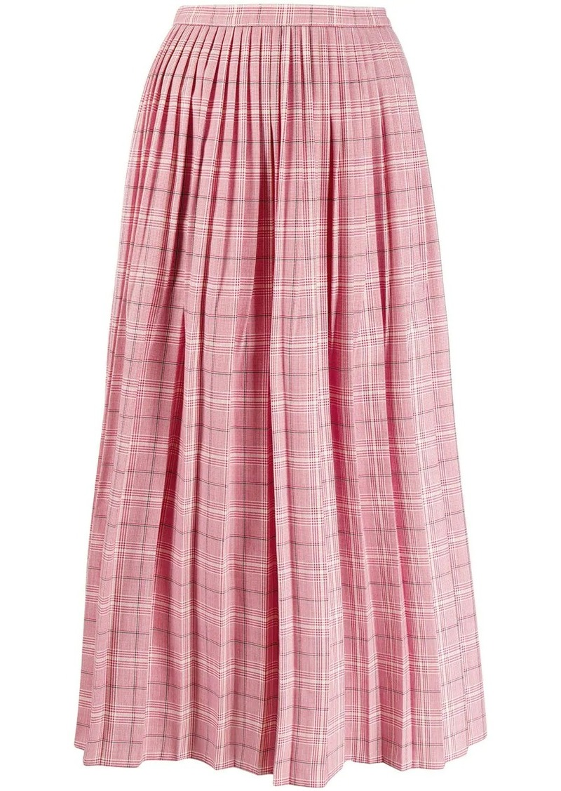 Marni checkered skirt