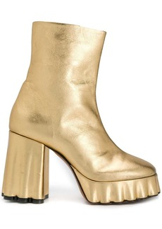 Marni chunky statement ankle boots