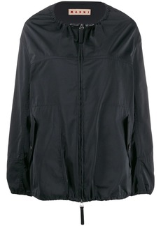 Marni collarless raincoat